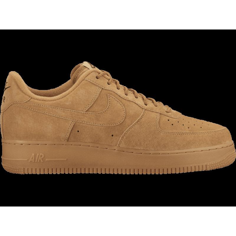 Nike Scarpa Air Force1 07 Wb Giallo