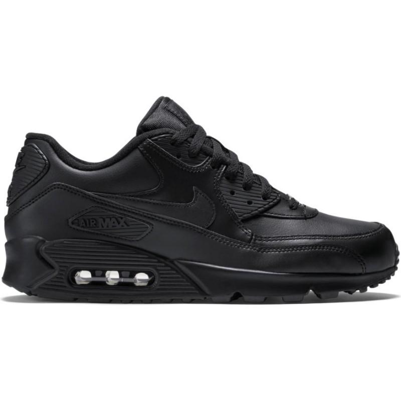 Nike Scarpa Air Max 90 Leather   Nero