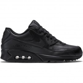 Nike Scarpa Air Max 90 Leather   Nero