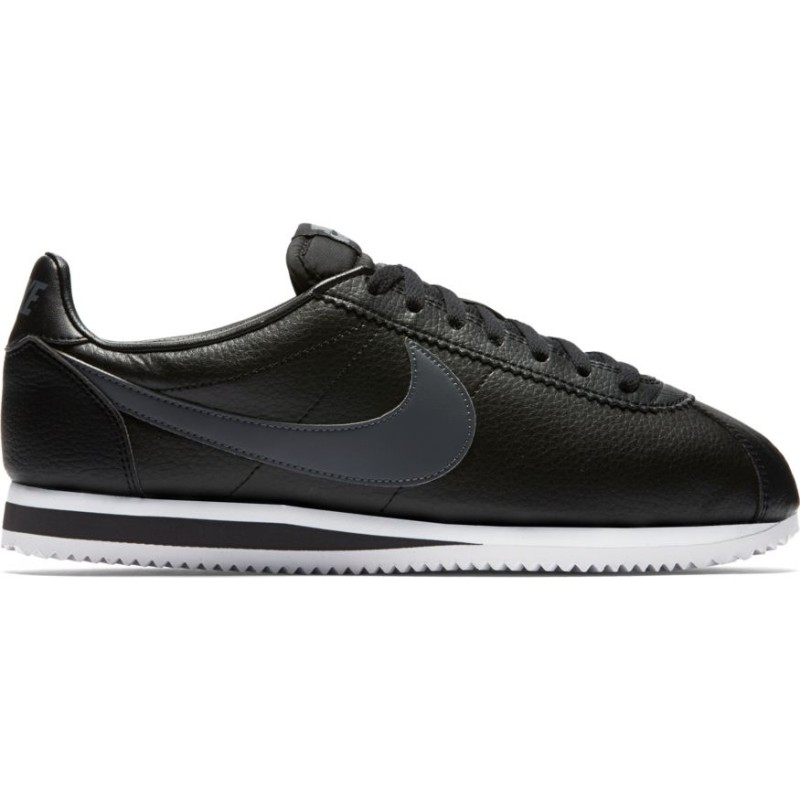 Nike Scarpa Classic Cortez Leather   Nero
