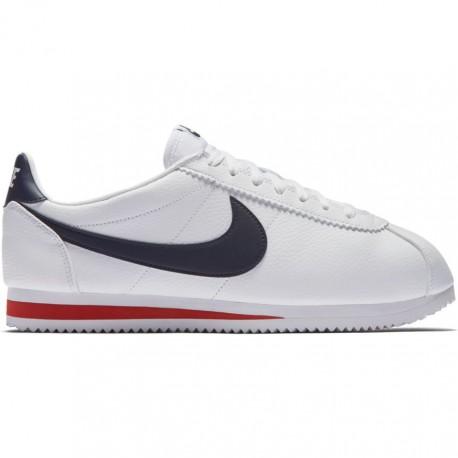 Nike Scarpa Classic Cortez Lea Bianco/Nero