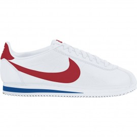 Nike Classic Cortez Leather Bianco/Rosso