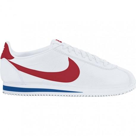 Nike Scarpa Classic Cortez Leather   Bianco/Rosso