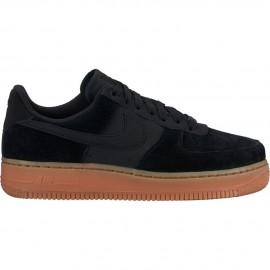 Nike Scarpa Donna Air Force 1 07 Se Nero/Nero