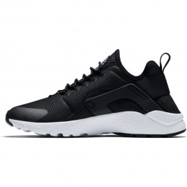 Nike Donna Air Huarache Run Ultra Nero/Bianco