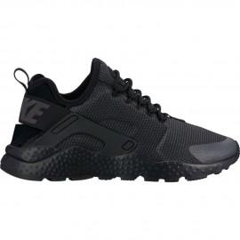 Nike Donna Air Huarache Run Ultra Nero/Nero