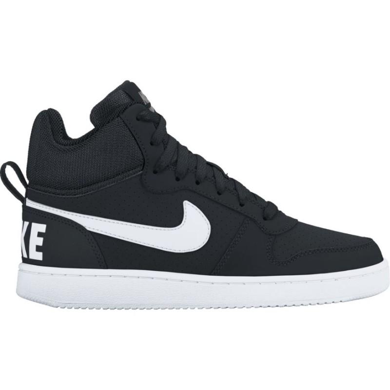 Nike Scarpa Court Borough Mid Black/White