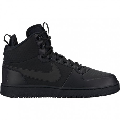Nike Scarpa Court Borough Mid Winter Black/Black