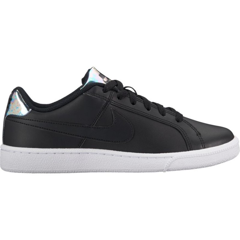 Nike Scarpa Donna Court Royale Black/Silver