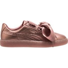 Puma Scarpa Donna Basket Heart Copper Copper Rose