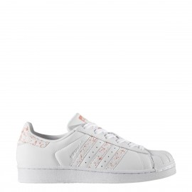 Adidas Scarpa Donna Superstar Bianco/Rosa