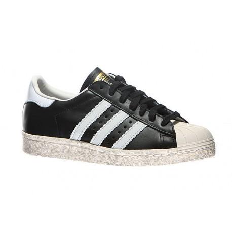 Adidas Scarpa Superstar 80s Nero/Bianco
