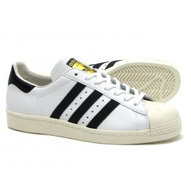 Adidas Scarpa Superstar 80s White/Black