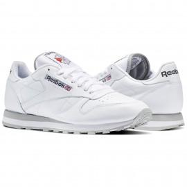 Reebok Scarpa Classic Lea Bianco/Bianco