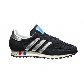 Adidas Scarpa La Trainer Og Silver/Navy