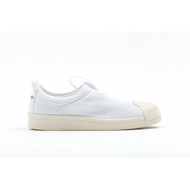 Adidas Superstar Slip On Donna Bianco/Bianco