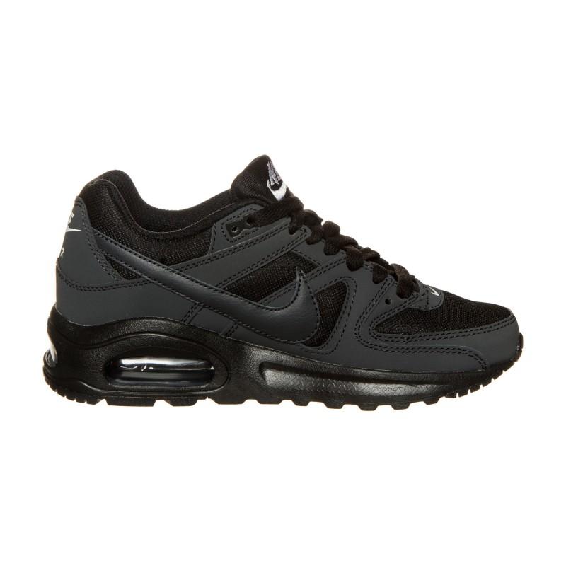 Nike Scarpa Bambino Air Max Command Gs Nero/Nero