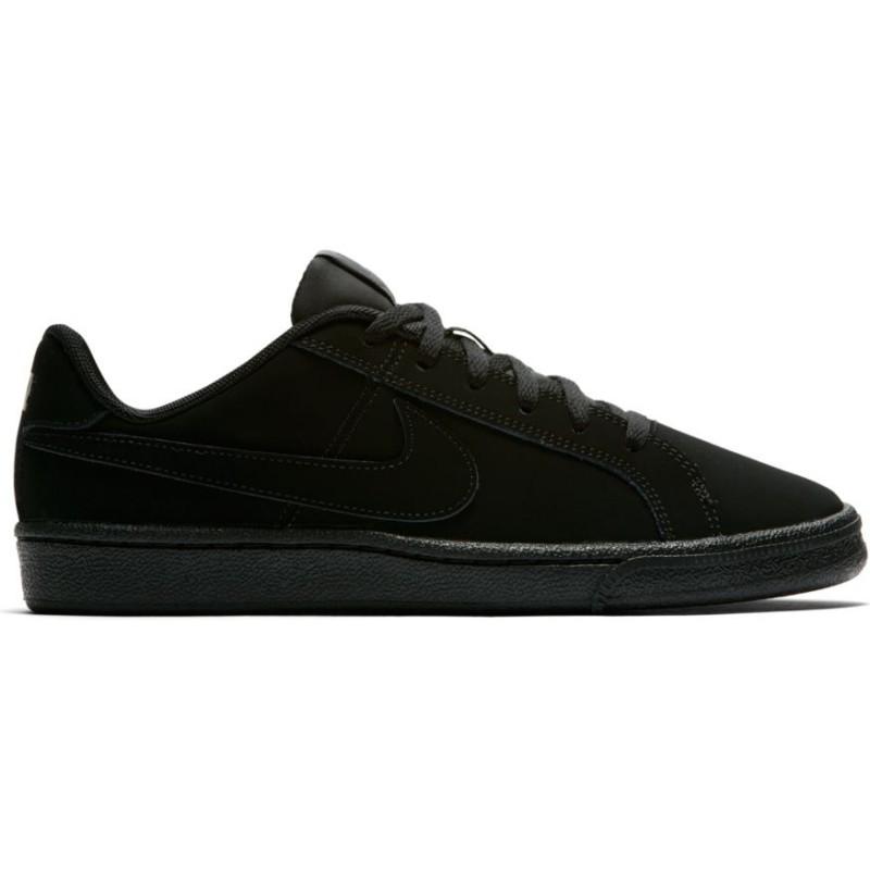 Nike Scarpa Bambino Court Royale Gs Nero/Nero