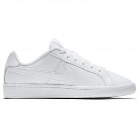 Nike Scarpa Bambino Court Royale Gs Bianco/Bianco