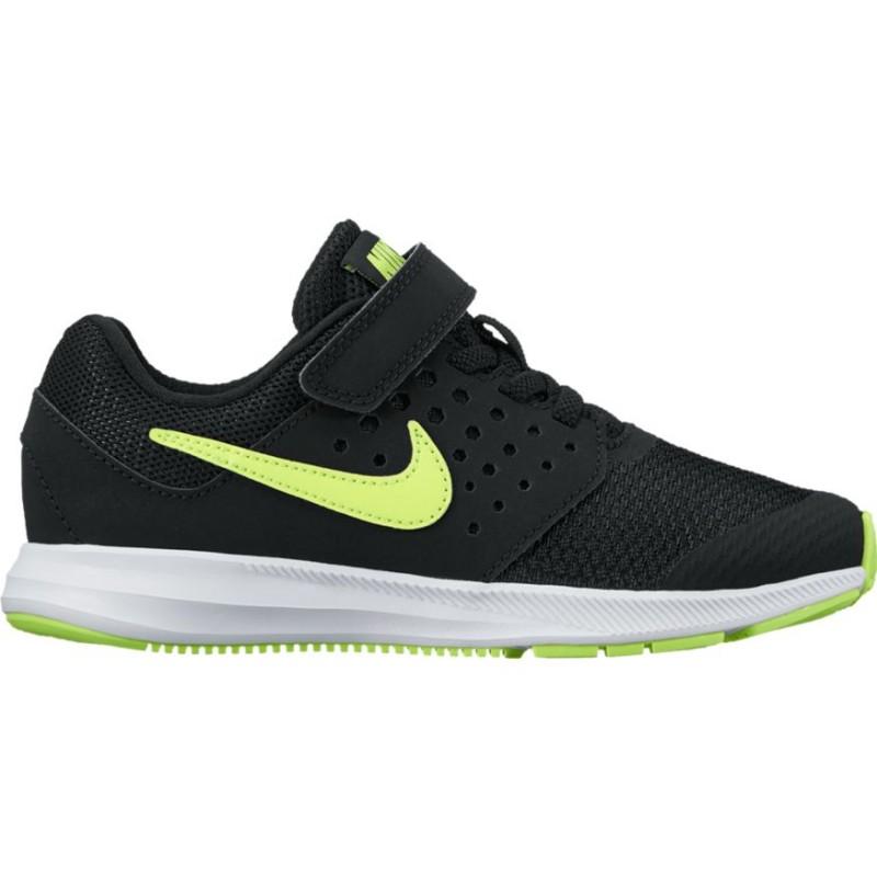Nike Scarpa Bambino Downshifter 7 Gs Nero/Bianco