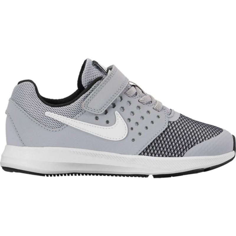 Nike Scarpa Bambino Downshifter 7 Ps Grigio/Bianco