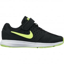 Nike Scarpa Bambino Downshifter 7 Ps Nero/Bianco