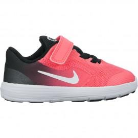 Nike Scarpa Bambino Revolution 3 Td Nero/Rosa