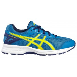 Asics Scarpa Bambino Gel Galaxy 9 Gs Blue/Yellow