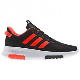Adidas Scarpa Bambino Cf Racer Tr Nero/Rosso