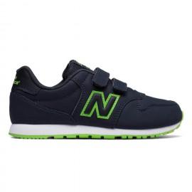 New Balance Scarpa Bambino 500 Neon Nero/Verde