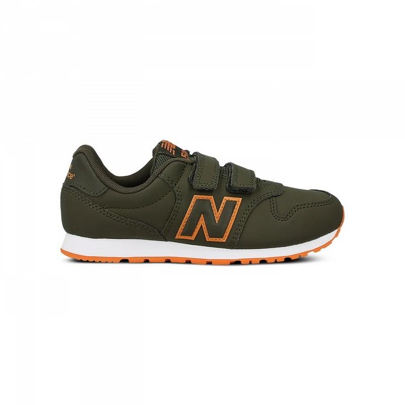 New Balance Scarpa Bambino 500 Neon Verde/Arancio