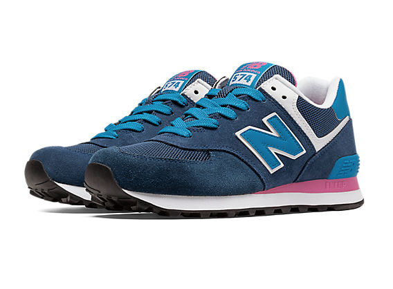 new balance 574 donna azzurre