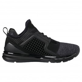 Puma  Ignite Limitless Knit Black/Silver