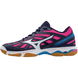 Mizuno  Donna Wave Hurricane 3 Mid Peacoat/White