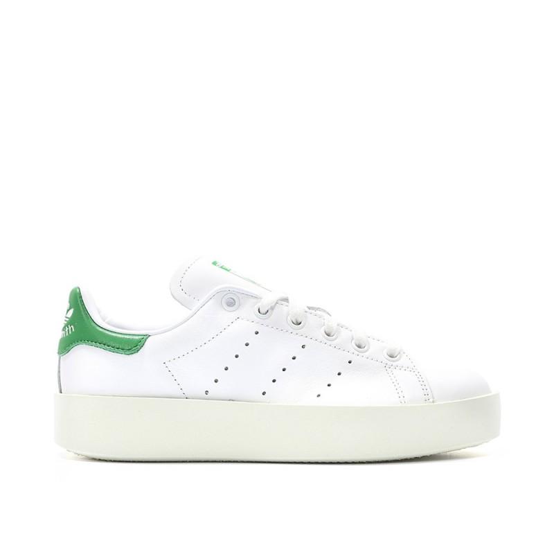 Adidas Scarpa Donna  Stan Smith Bold White/White