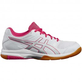 Asics  Donna Gel-Rocket 8 Bianco/Silver