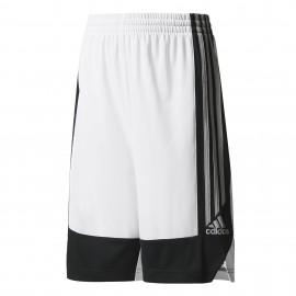 Adidas Short Bambino Poly Commander Bianco/Nero