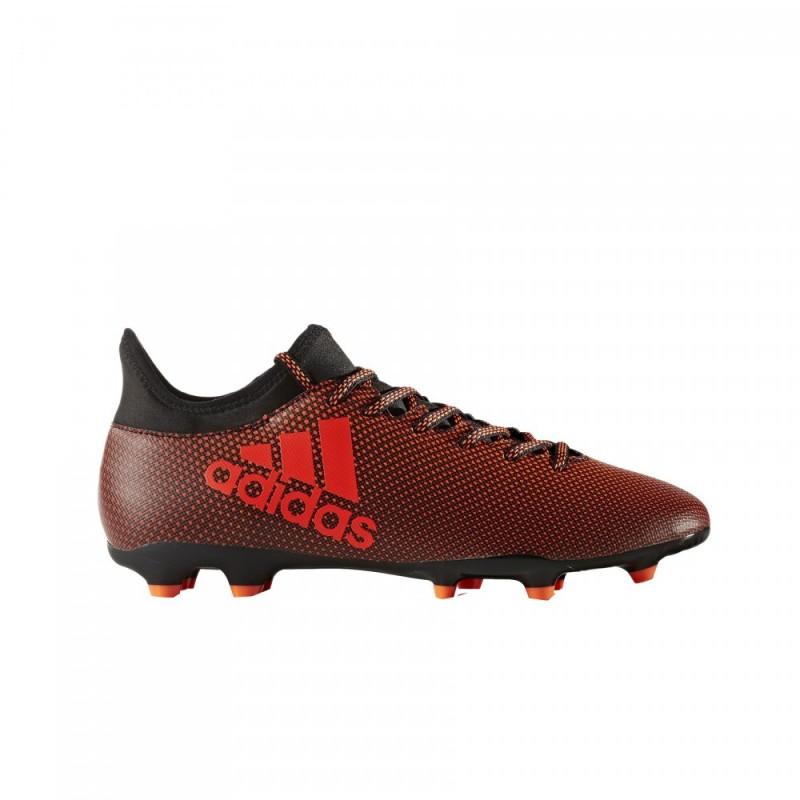 Adidas X 17.3 FG Nero/Rosso