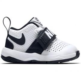 Nike Bambino Team Hustle 8 Td Bianco/Nero