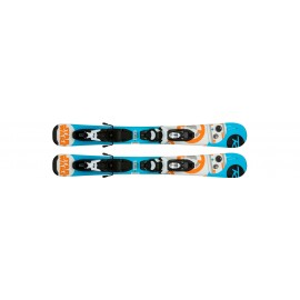 Rossignol Sci Bambino Star War Baby + Kid X 4 Black White