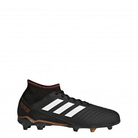 Adidas Bambino Predator 18.3 Fg Black/Red