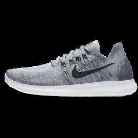 Nike Free Rn Flyknit 2 Donna Wolf Grey/Black
