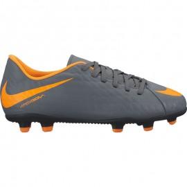 Nike Bambino Hypervenom Phantom 3 Club Fg Nero/Arancio