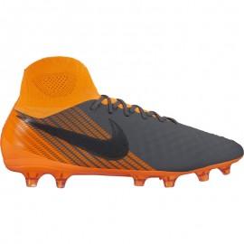 Nike Magista Obra 2 Pro Df Fg Grigio/Arancio