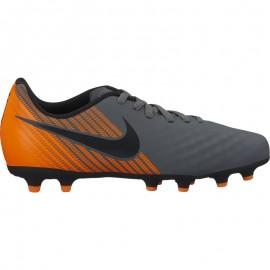 Nike Bambino Magista Obra 2 Club Fg Grigio/Arancio