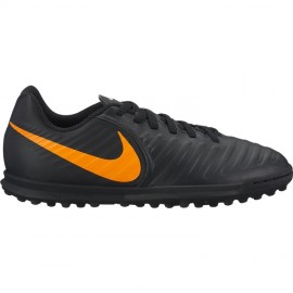 Nike Bambino Tiempo Legendx 7 Club Tf Nero/Arancio