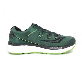 Saucony Triumph Iso 4 Green/Black + Felpa