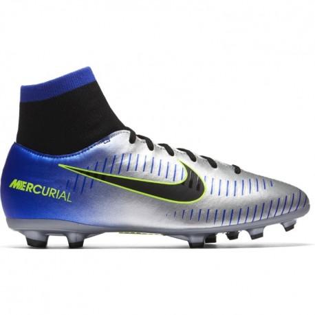 Nike Bambino Mercurial Victory 6 Df Njr Fg Blu/Nero