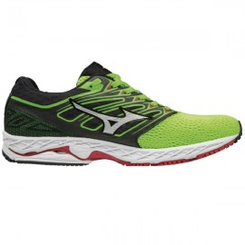 Mizuno Wave Shadow Green Slime/White