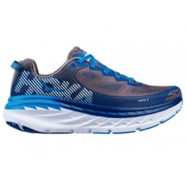 Hoka Bondi 5 Charcoal Grey/True blue